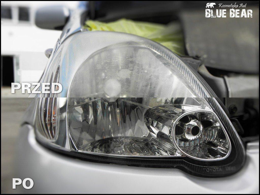 Polerowanie Reflektorów Lamp Plastikowych Szklanych
